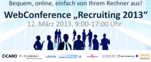 WebConference Recruiting 2013