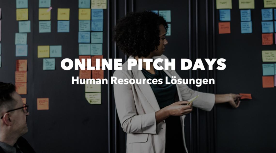 ONLINE PITCH DAY: Human Resources Lösungen am 15. September