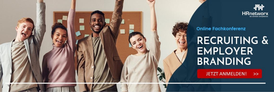 Online Fachkonferenz  Recruiting & Employer Branding am 13. April