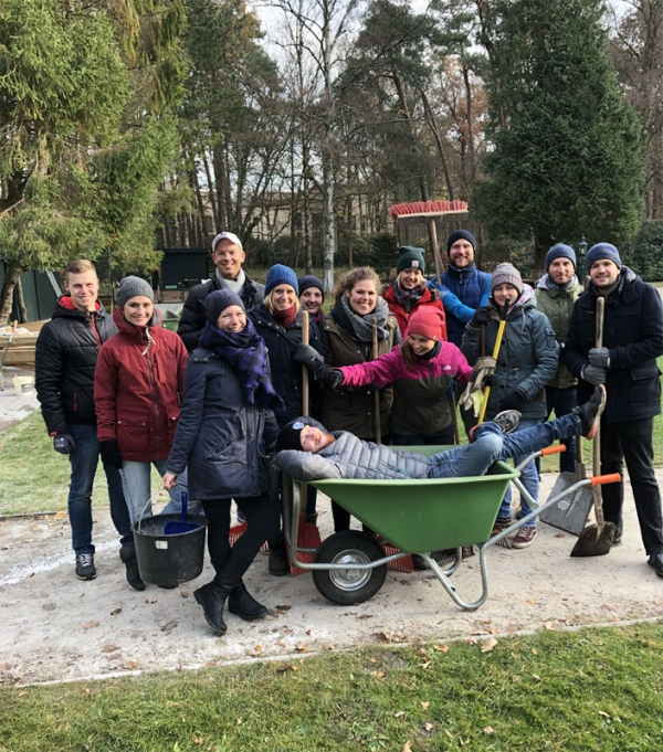 cut-e Team bei Charity-Aktion Hospiz Sternenbrücke